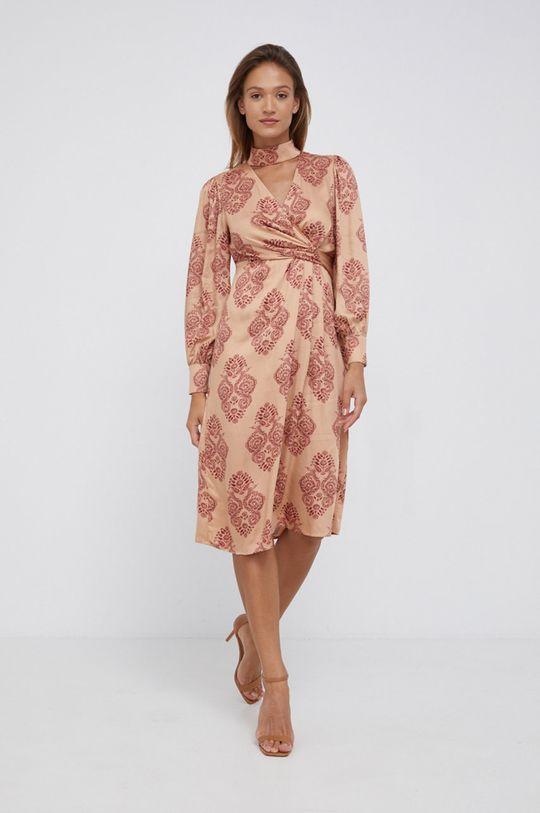 Sisley - Sukienka beżowy