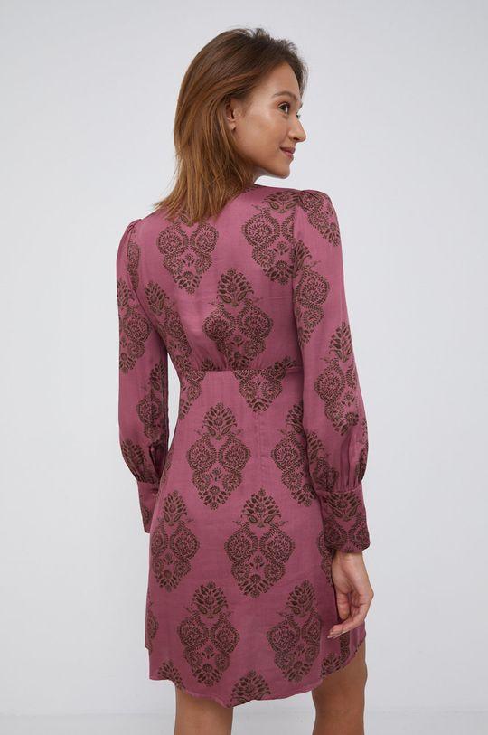 Sisley - Sukienka 100 % Wiskoza
