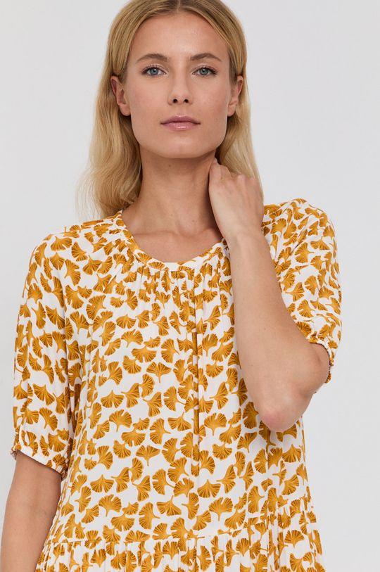 żółty Vila - Sukienka