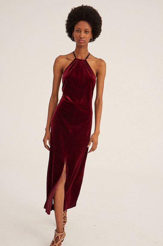 kasztanowy Undress Code - Sukienka The French Way Damski