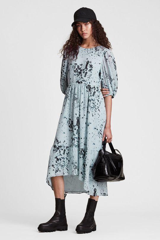 jasny niebieski AllSaints - Sukienka Damski