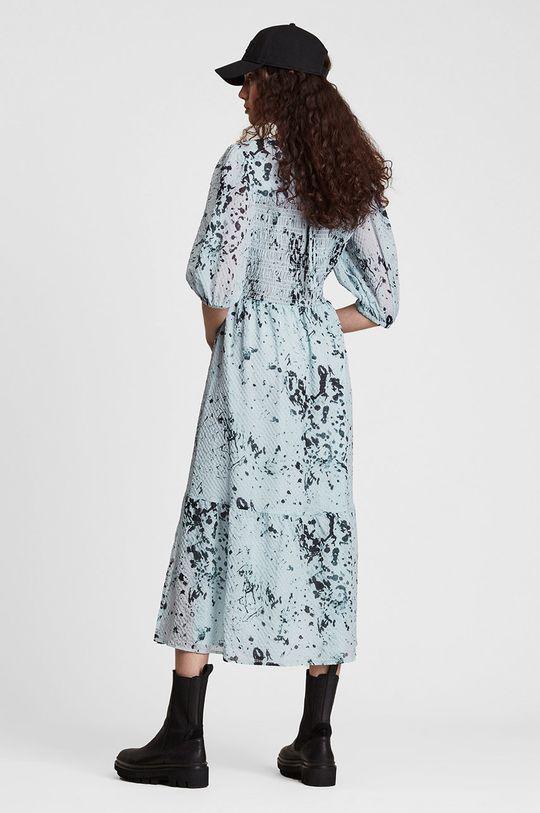 jasny niebieski AllSaints - Sukienka