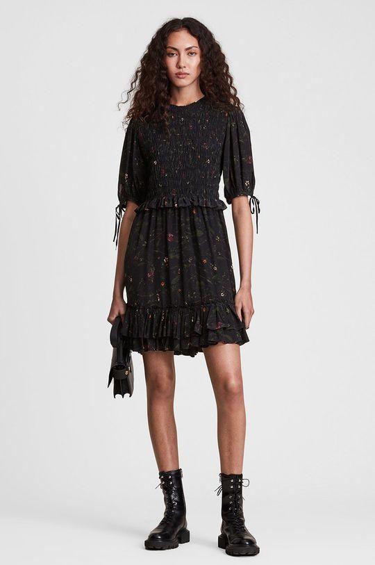 czarny AllSaints - Sukienka Damski