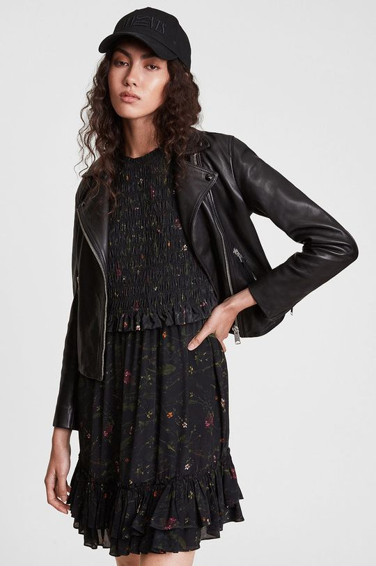 AllSaints - Sukienka 100 % Wiskoza