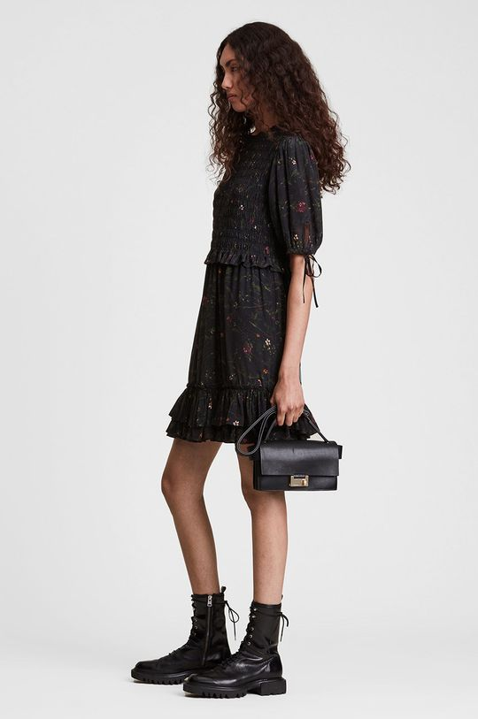 czarny AllSaints - Sukienka