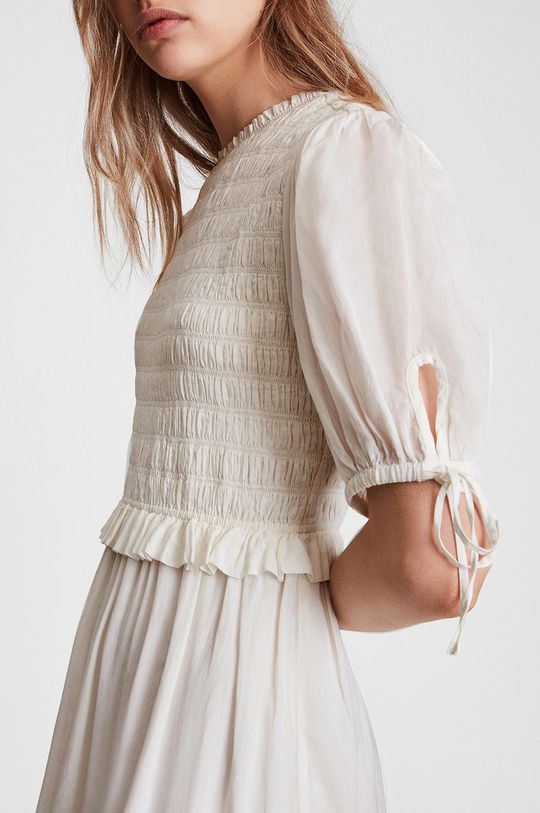 biały AllSaints - Sukienka
