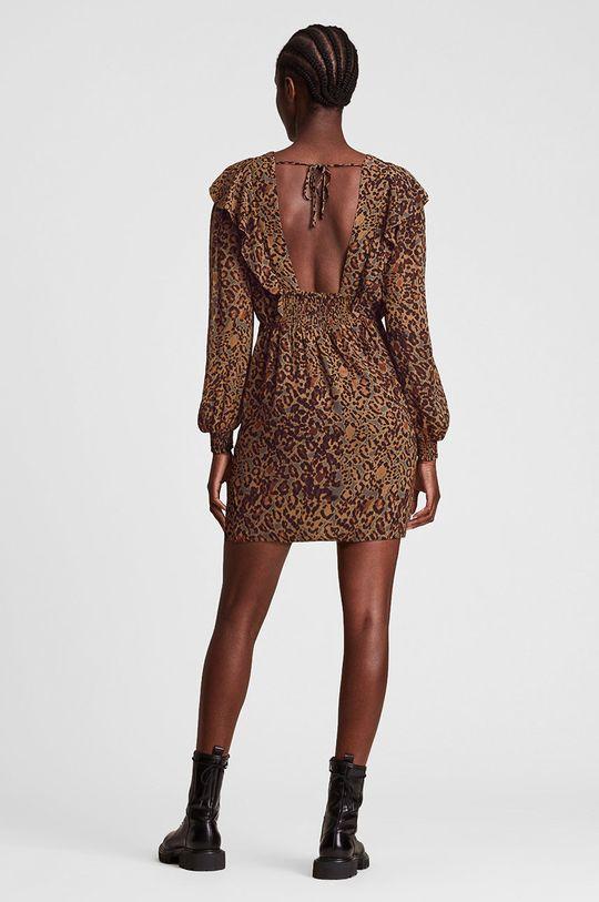 AllSaints - Sukienka 100 % Poliester