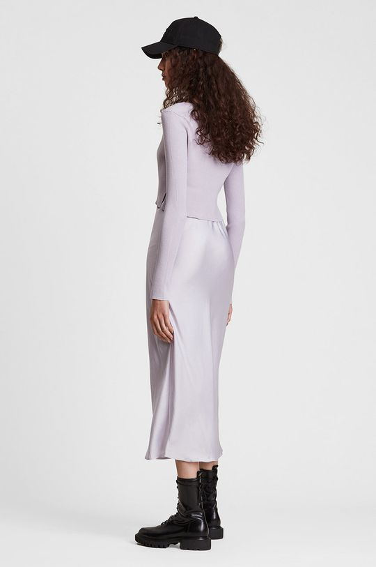 AllSaints - Sukienka i sweter multicolor