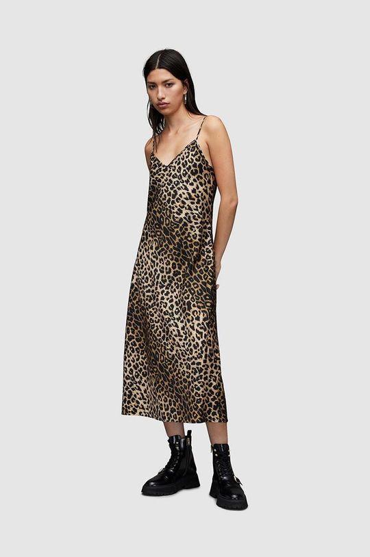 czarny AllSaints - Sukienka i sweter Damski