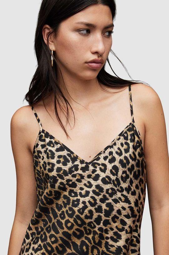 AllSaints - Sukienka i sweter czarny