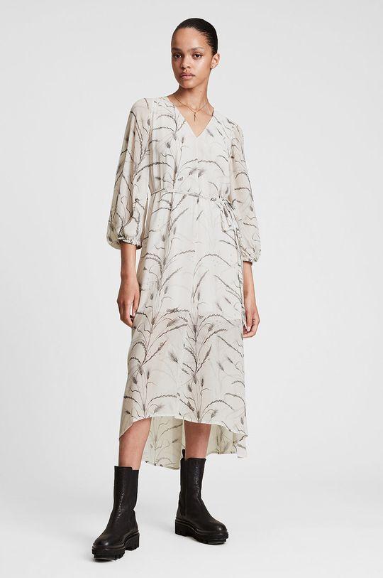 AllSaints - Sukienka Podszewka: 100 % Poliester z recyklingu, Materiał zasadniczy: 100 % Wiskoza LENZING ECOVERO
