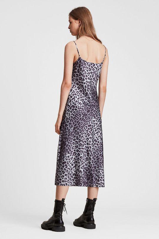 AllSaints - Sukienka szary