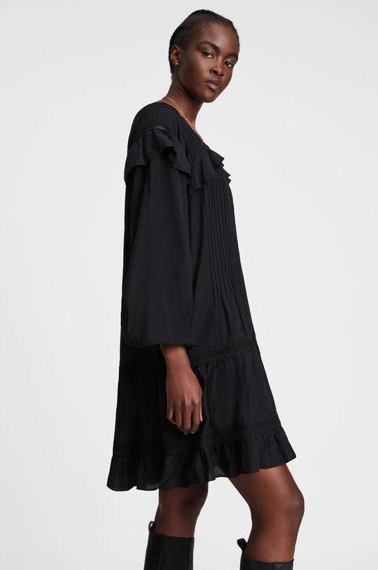AllSaints - Sukienka Podszewka: 100 % Bawełna, Materiał zasadniczy: 8 % Len, 21 % Lyocell, 28 % Modal, 43 % Wiskoza, Inne materiały: 100 % Poliester