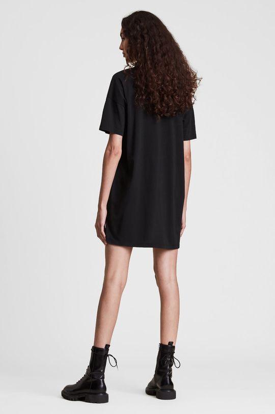 AllSaints - Sukienka bawełniana 100 % Bawełna