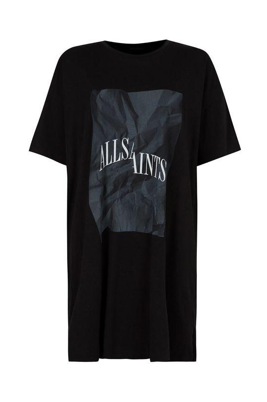 AllSaints - Sukienka bawełniana Damski