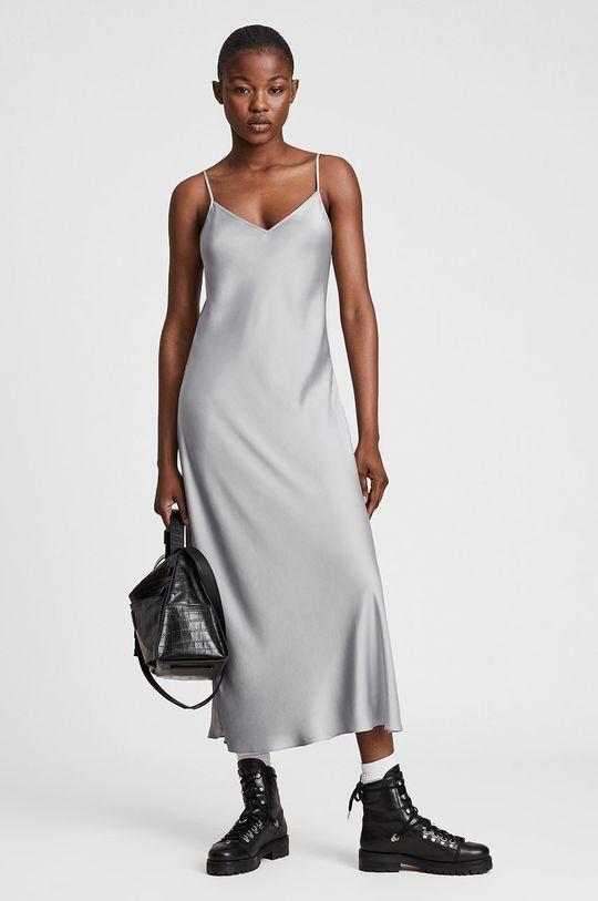 AllSaints - Sukienka i sweter Materiał 1: 3 % Elastan, 30 % Poliamid, 59 % Wełna, 8 % Inny materiał, Materiał 2: 100 % Poliester z recyklingu