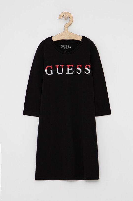 černá Guess - Dívčí šaty Dívčí