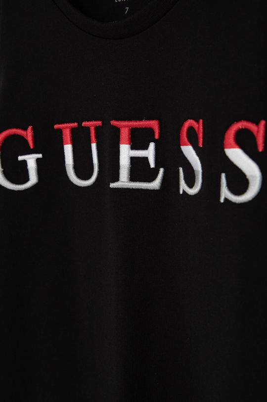 Guess - Dívčí šaty  95% Bavlna, 5% Viskóza