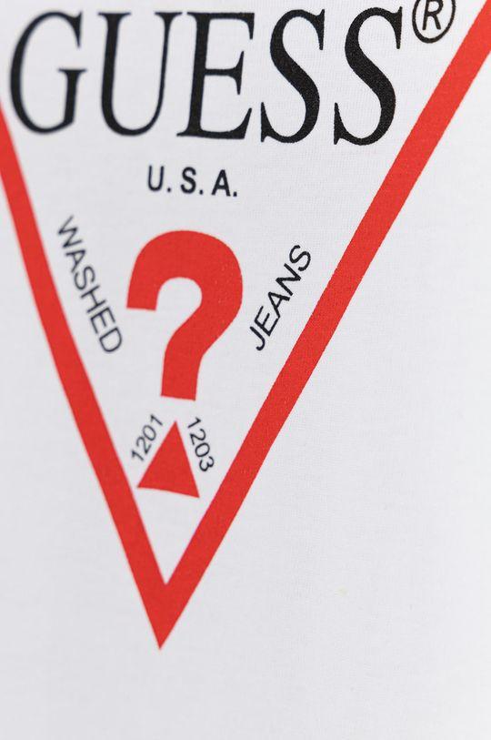 Guess - Sukienka bawełniana dziecięca 100 % Bawełna