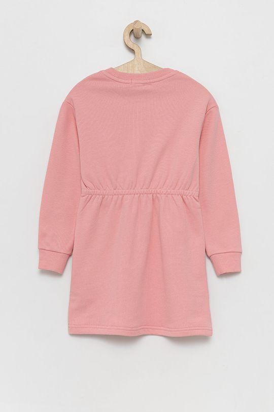 Calvin Klein Jeans - Sukienka dziecięca różowy