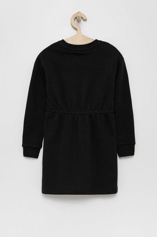 Calvin Klein Jeans - Sukienka dziecięca czarny