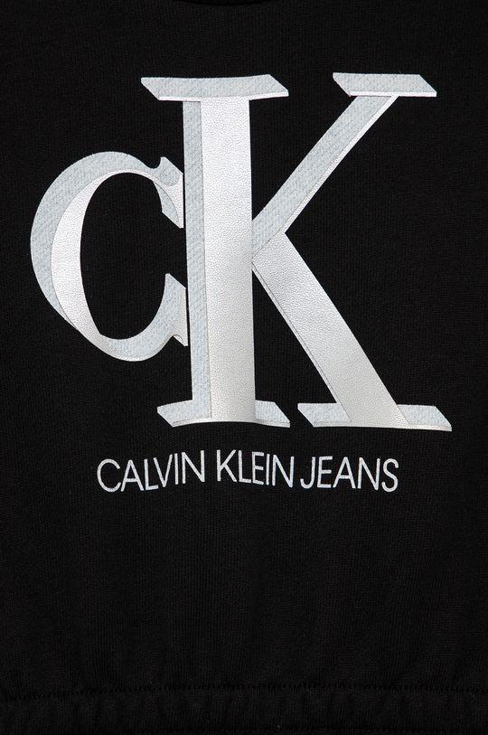 Calvin Klein Jeans - Sukienka dziecięca 100 % Bawełna