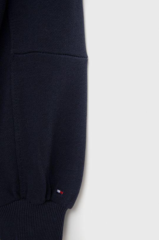 Tommy Hilfiger - Sukienka bawełniana dziecięca 100 % Bawełna organiczna