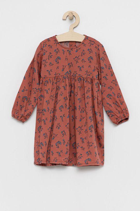 Name it - Sukienka dziecięca brudny róż