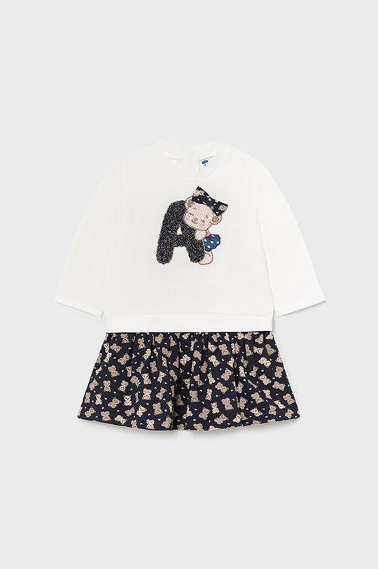 granatowy Mayoral - Sukienka i bluza dziecięca Dziewczęcy