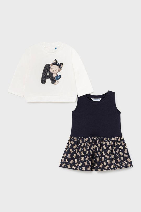 Mayoral - Sukienka i bluza dziecięca 95 % Bawełna, 5 % Elastan