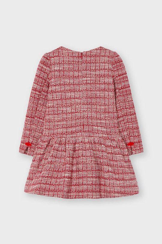 Mayoral - Sukienka dziecięca ostry czerwony