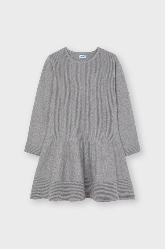 szary Mayoral - Sukienka dziecięca Dziewczęcy