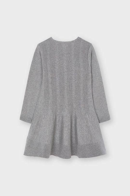Mayoral - Sukienka dziecięca szary