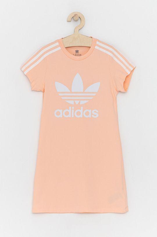 różowy adidas Originals - Sukienka dziecięca Dziewczęcy