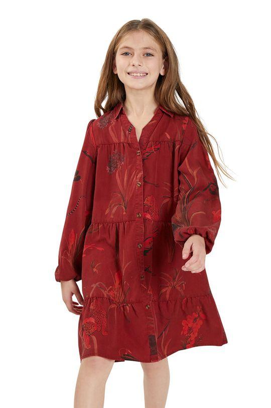 rosu Desigual - Rochie fete De fete