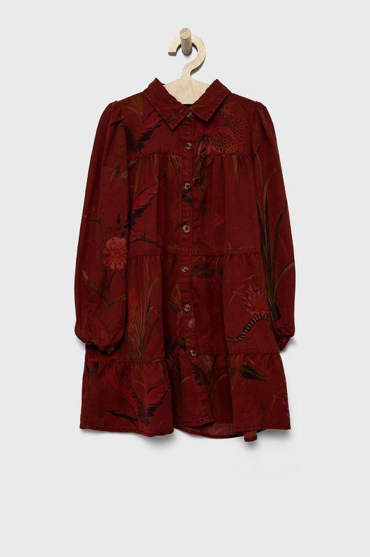 Desigual - Rochie fete rosu