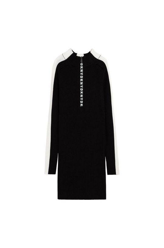 czarny Dkny - Sukienka dziecięca Dziewczęcy