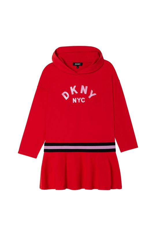 sýtočervená Dkny - Dievčenské šaty Dievčenský