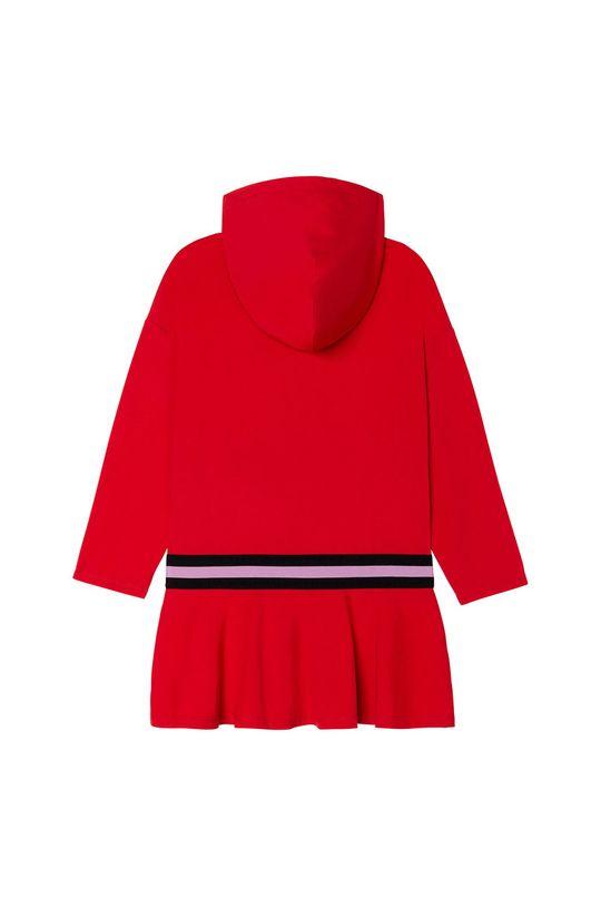 Dkny - Dievčenské šaty sýtočervená