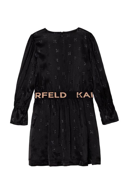 Karl Lagerfeld - Dievčenské šaty  100% Viskóza