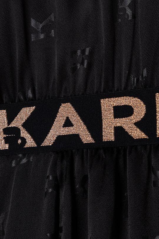 čierna Karl Lagerfeld - Dievčenské šaty