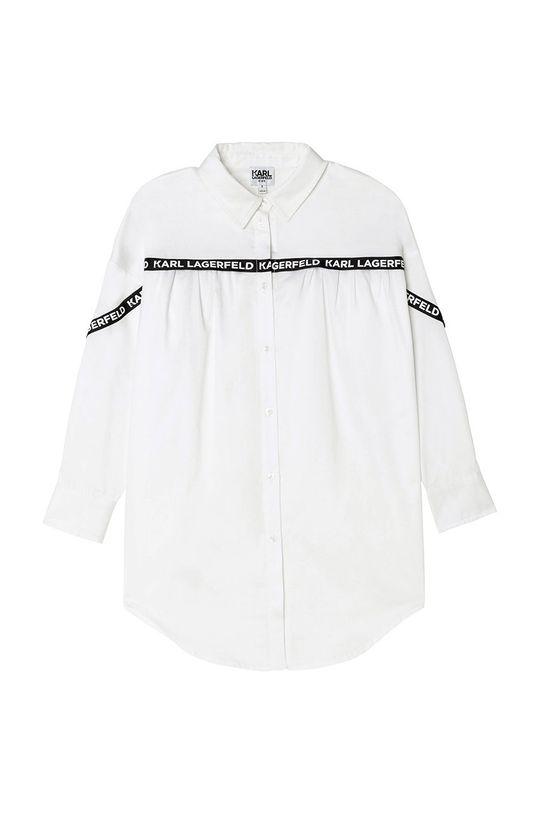 Karl Lagerfeld - Rochie fete alb