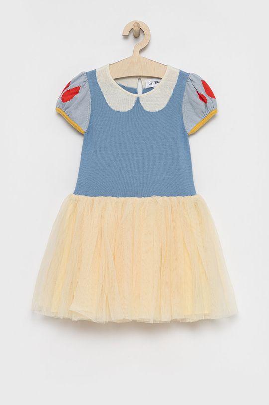 niebieski GAP - Sukienka dziecięca x Disney Dziewczęcy