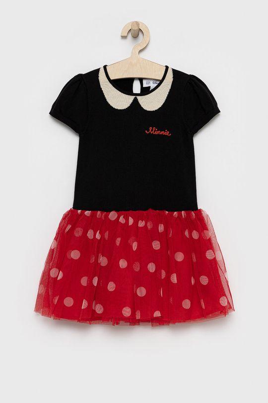 czarny GAP - Sukienka dziecięca x Disney Dziewczęcy