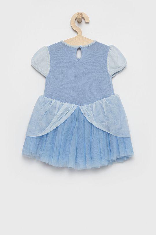 GAP - Sukienka dziecięca x Disney jasny niebieski