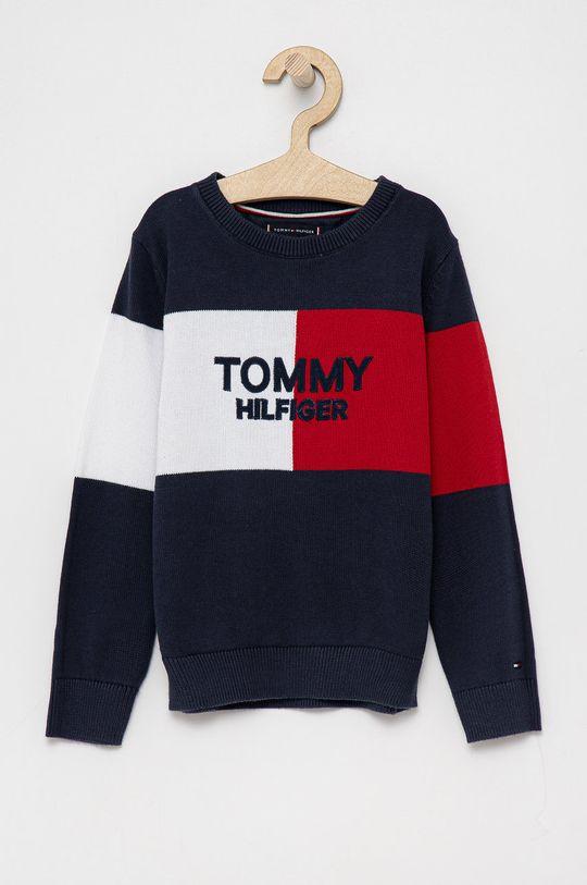 granatowy Tommy Hilfiger - Sweter dziecięcy Chłopięcy