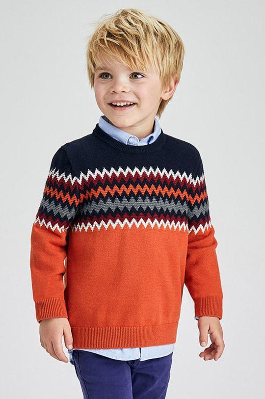 pomarańczowy Mayoral - Sweter dziecięcy Chłopięcy