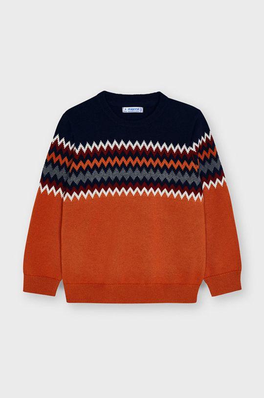 Mayoral - Sweter dziecięcy pomarańczowy