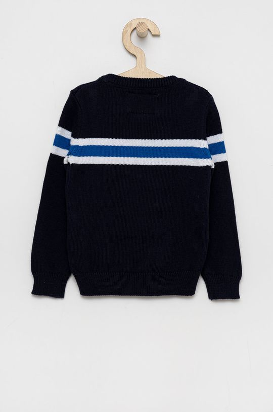 Guess - Detský sveter tmavomodrá