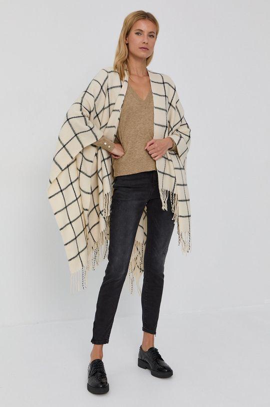 Vila - Sweter beżowy